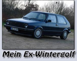 Mein Ex-Wintergolf